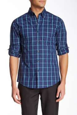 Vince Camuto - Long Sleeve Plaid Sport Shirt