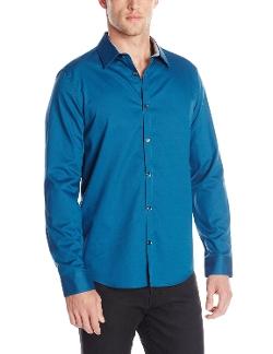 Calvin Klein - Dobby Woven Button-Front Shirt