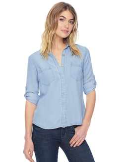 Splendid - Chambray Placket Shirt