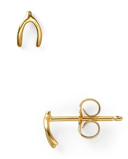 Dogeared  - Wishbone Stud Earrings
