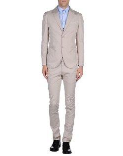 Luigi Bianchi Rough - Two-Button Suit