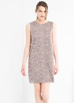 Mango - Animal Print Dress