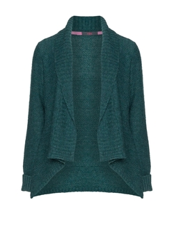 Rimini - Shawl-Collar Open Cardigan