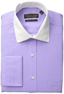 Donald J. Trump - Herringbone Solid Dress Shirt