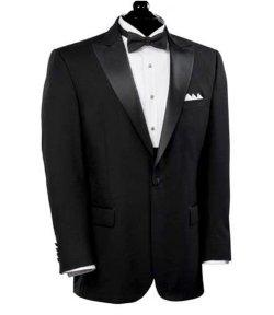 Jos. A. Bank - Black Peak Lapel Tuxedo Jacket