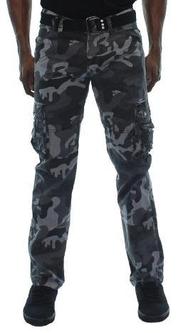 Moda Essentials  - Mens Jetlag Cargo Pants Slim Straight