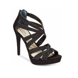 Alfani - Cymball Caged Platform Evening Sandals