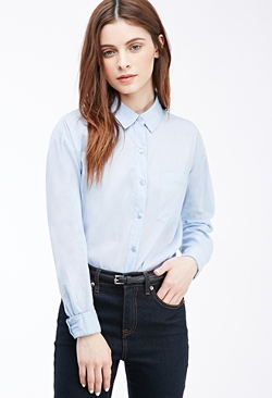 Forever21 - Boxy Button-Down Shirt