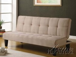 ACME - Tufted Adjustable Back Sofa