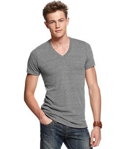 Alternative Apparel Shirt - Boss V Neck Core T Shirt