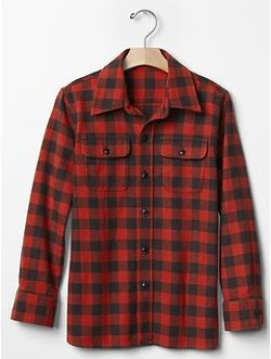 Gap - Plaid Flannel Shirt