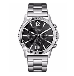 Caravelle New York By Bulova - Chronograph Stainless Steel Bracelet Watch