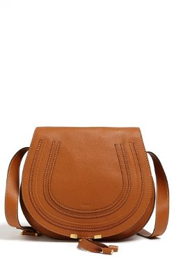 Chloé - Medium Marcie Leather Crossbody Bag