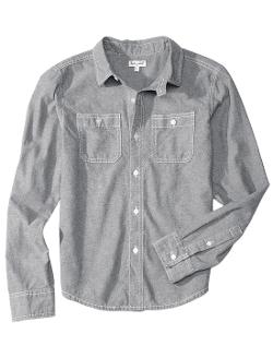 Splendid - Boy Chambray Woven Shirt