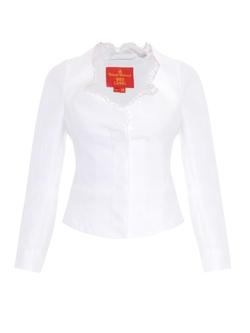 Vivienne Westwood Red Label - Cornucopia Cotton-Blend Lace-Trim Jacket