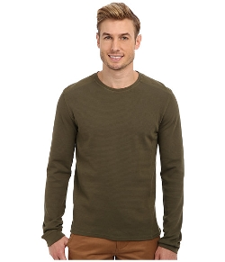 Calvin Klein Jeans  - Mixed Media Waffle Pullover Sweater