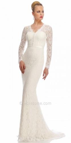 Nika - Victorian Lace Evening Dress