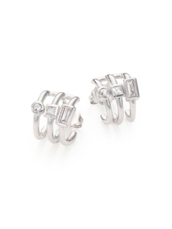 Elizabeth and James  - Silver Signature Roni Hoops
