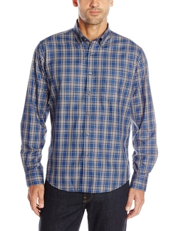 Alex Cannon - Long Sleeve Brookside Plaid Shirt