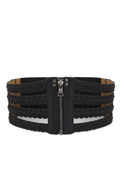 BCBGMAXAZRIA - Braided Cord Cage Belt