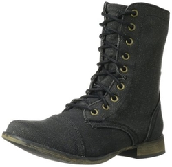 Skechers USA  - Starship-Spa-Kle Combat Boots