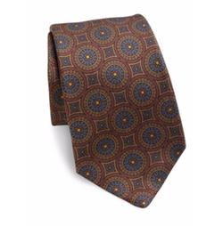 Kiton  - Printed Silk Tie