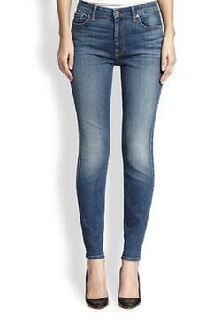 Jen7  - Skinny Medium Wash Jeans