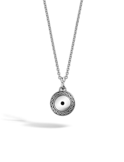 John Hardy - Classic Chain Round Amulet Pendant Necklace