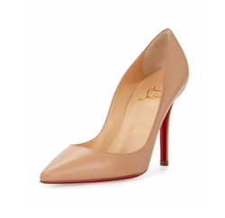 Christian Louboutin - Apostrophy Pointed Pumps