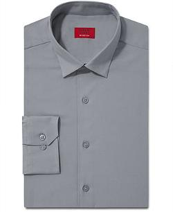 Alfani Spectrum  - Slim-Fit Solid Dress Shirt