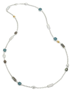 Gurhan - Lentil Semi-Precious Multi-Stone Necklace