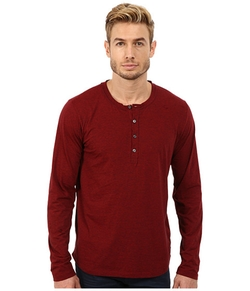 7 For All Mankind - Long Sleeve Henley Shirt