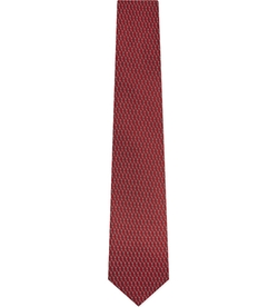 Lanvin - Diagonal Diamond Tie