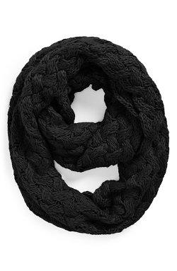 Tildon  - Crisscross Knit Infinity Scarf