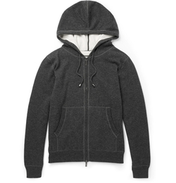 Canali - Cashmere And Cotton-Blend Hoodie
