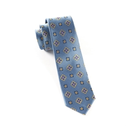 The Tie Bar - Excalibur Medallion Tie