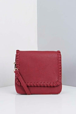 Boohoo - Jasmine Stitch Detail Cross Body Bag