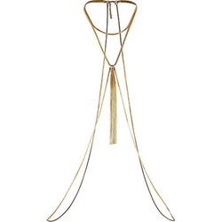 River Island - Gold Tone Chain Drape Body Harness
