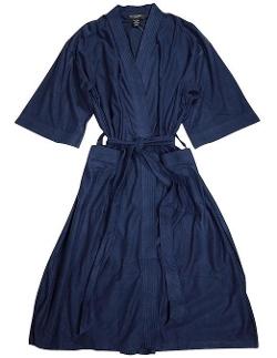 State O Maine  - Mens 3/4 Sleeve Robe