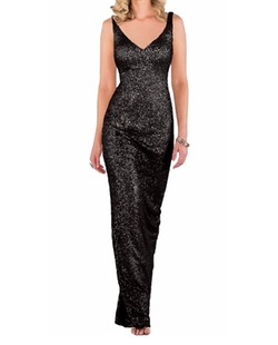 SecretCastle - Sequins Shelth Long Evening Gown