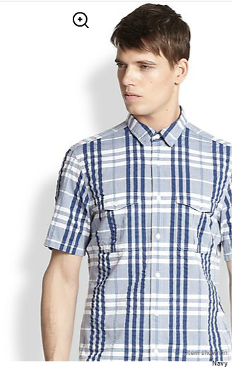 Burberry Brit - Adken Large Check Sportshirt