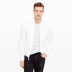 Club Monaco - Mixed Terry Jacket