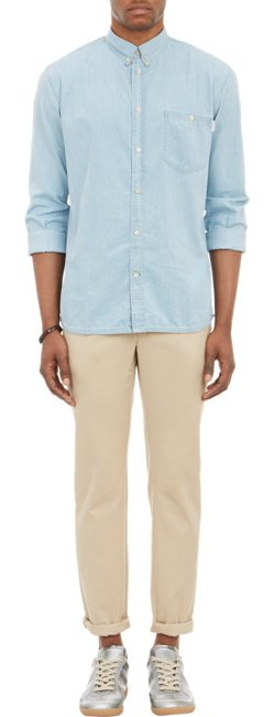 Paul Smith Jeans  - Washed Chambray Shirt