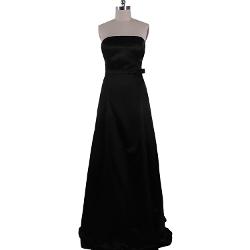 Vilavi - Tube Top Strapless Satin Dresses