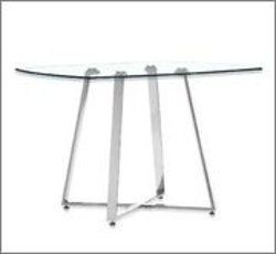 Zuo - Modern Lemon Drop Dining Table In Chrome