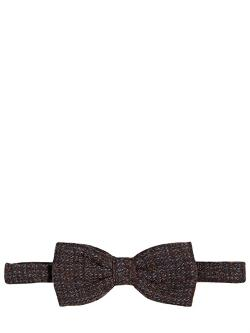 Zzegna  - Cotton Wool Silk Tweed Bow Tie