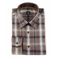 Robert Talbott - Plaid Woven Dress Shirt