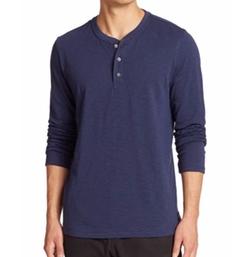 Madison Supply - Slubbed Cotton Henley Shirt