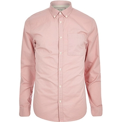 River Island - Pink Twill Shirt