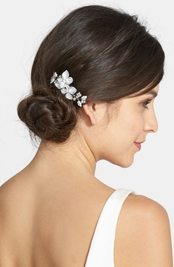 Wedding Belles New York  - Crystal Floral Hair Comb